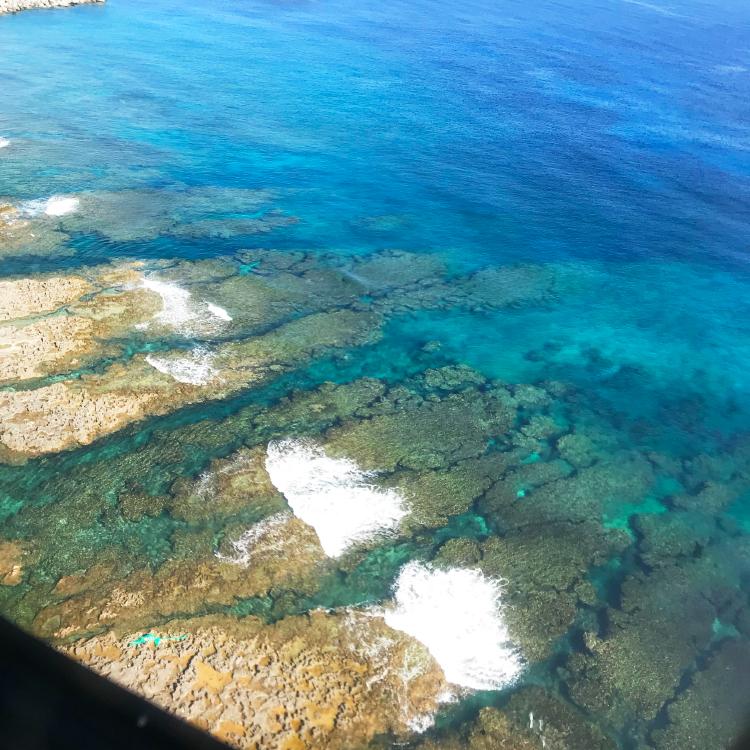 隆起サンゴ礁の島